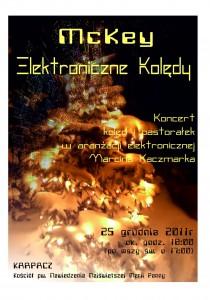 Koncert elektronicznych kolęd